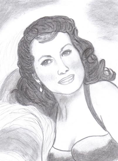 Maureen O'Hara by Sofya